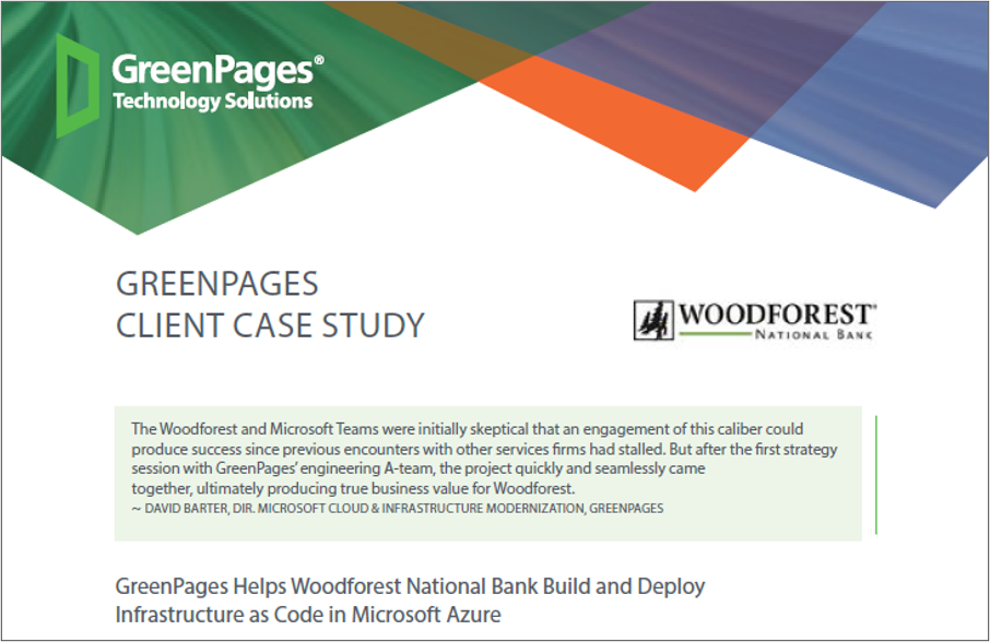 woodforest case study