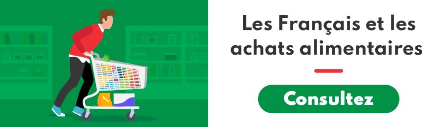 Les Français et les enseignes alimentaires