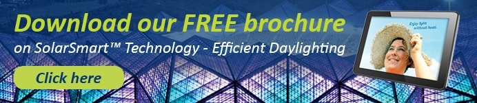 Download our FREE brochure on SolarSmart Technology - Efficient Daylighting