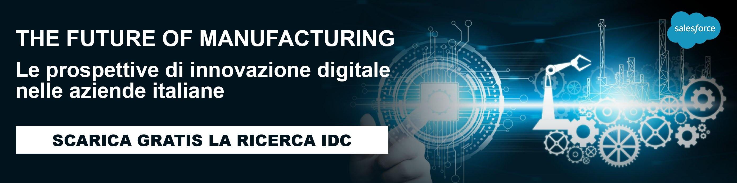 The future of manufacturing - Scarica la ricerca IDC