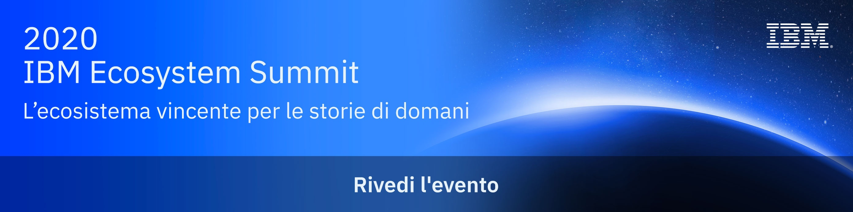 IBM Ecosystem Summit - Rivedi l'evento