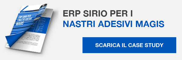 Case Study - ERP Sirio per i nastri adesivi Magis