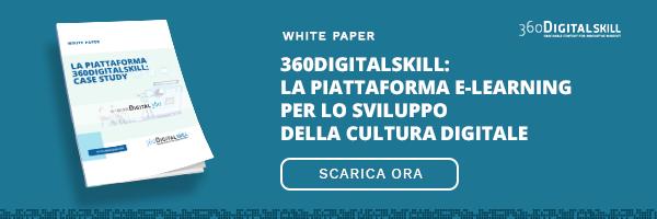"""CLICCA QUI per scaricare il White Paper: """"La piattaforma 360 Digital Skill"""""""