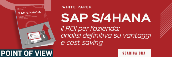 Whitepaper: SAP S/4HANA, il ROI per l'azienda