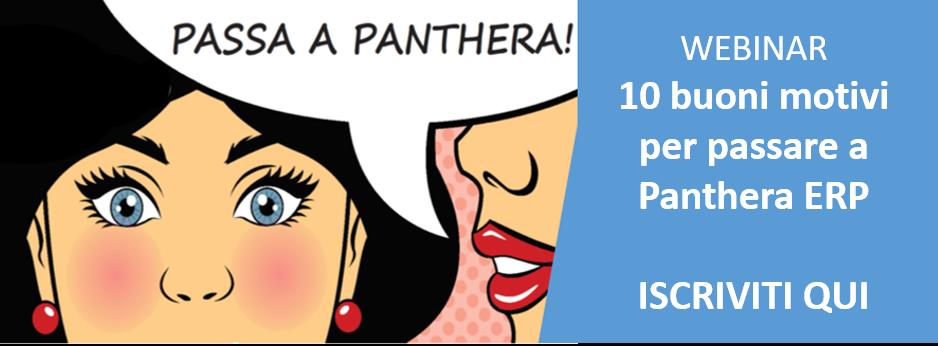 10 buoni motivi per passare a Panthera ERP