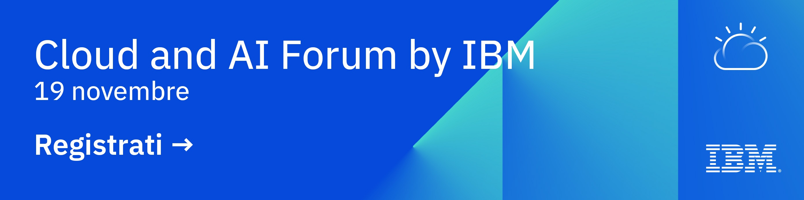 Cloud and AI Forum by IBM