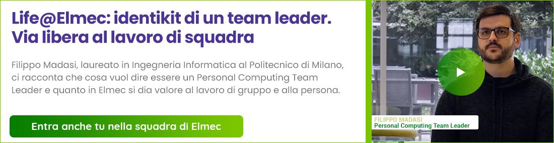 Entra anche tu nella squadra di Elmec - Guarda il video!