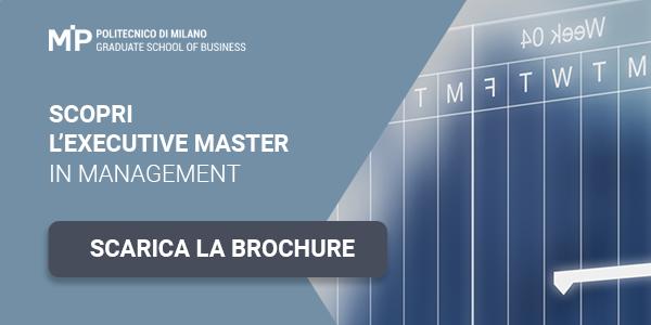 Scopri l'executive master in Management. Scarica la Brochure
