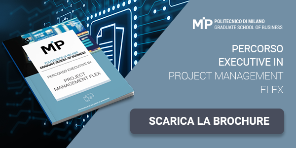 "Clicca qui per scaricare la brochure: ""Percorso executive in Project Management FLEX"""