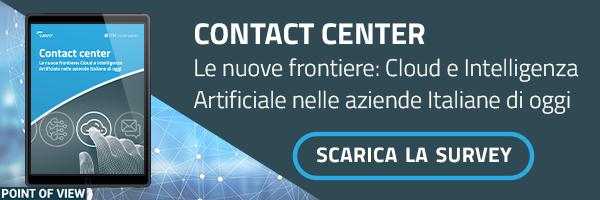 igm - Contact Center Le nuove frontiere: Cloud e Intelligenza Artificiale nelle aziende Italiane di oggi