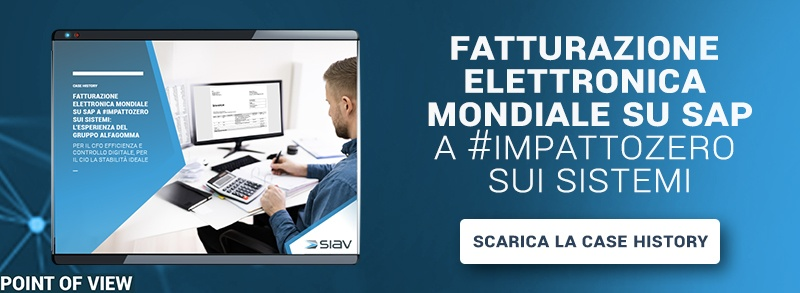 Fatturazione elettronica mondiale su SAP a #impattozero sui sistemi