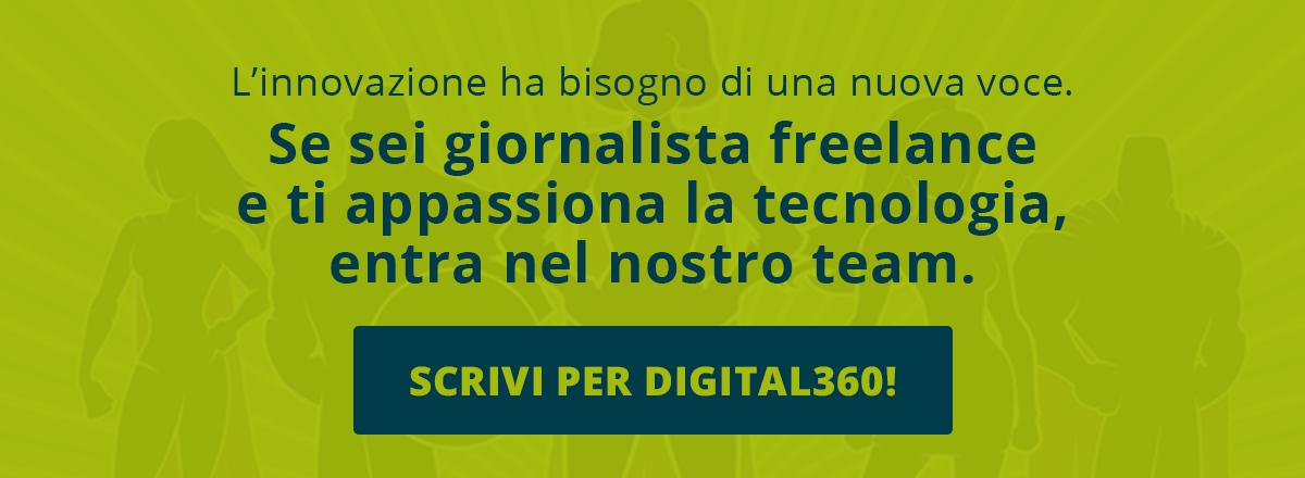 Candidati qui ed entra nella più grande Content Factory sui temi dell'innovazione
