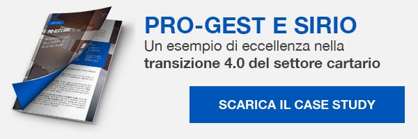 Case Study - Pro-Gest e Sirio, un esempio di eccellenza nella transizione 4.0 del settore cartario
