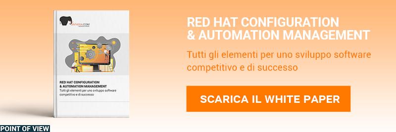 """CLICCA QUI per scaricare il White Paper: """"Panoramica di Red Hat sullo sviluppo cloud native"""""""