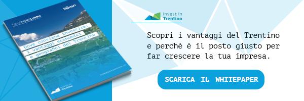 Scopri i vantaggi del Trentino e perché è il posto giusto per far crescere la tua impresa - Scarica il White Paper