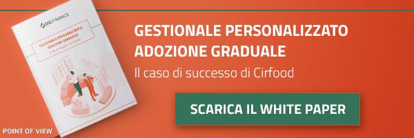 WP - Gestionale personalizzato, adozione graduale: il caso di successo CIRFOOD