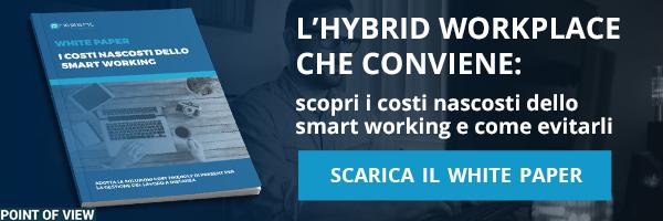 White Paper - Smart Working: come favorire processi di lavoro più innovativi e produttivi in modalità as a service