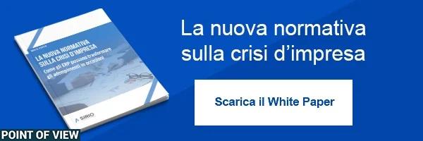 Clicca Qui per scaricare il White Paper: La nuova normativa crisi d'impresa