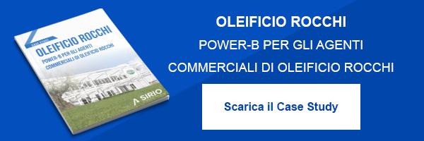 """CLICCA QUI per scaricare il Case Study: """"Oleficio Rocchi, Power-B per gli agenti commerciali"""""""
