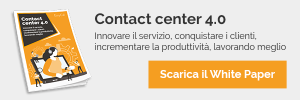 EasyCall - White Paper - Contact center 4.0