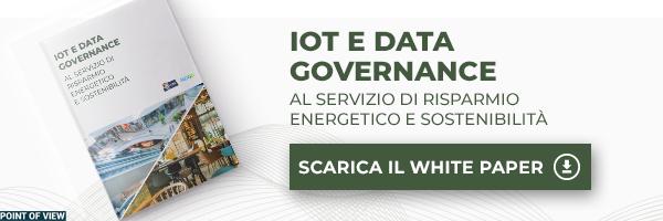 White Paper - IoT e Data Governance al servizio di risparmio energetico e sostenibilità