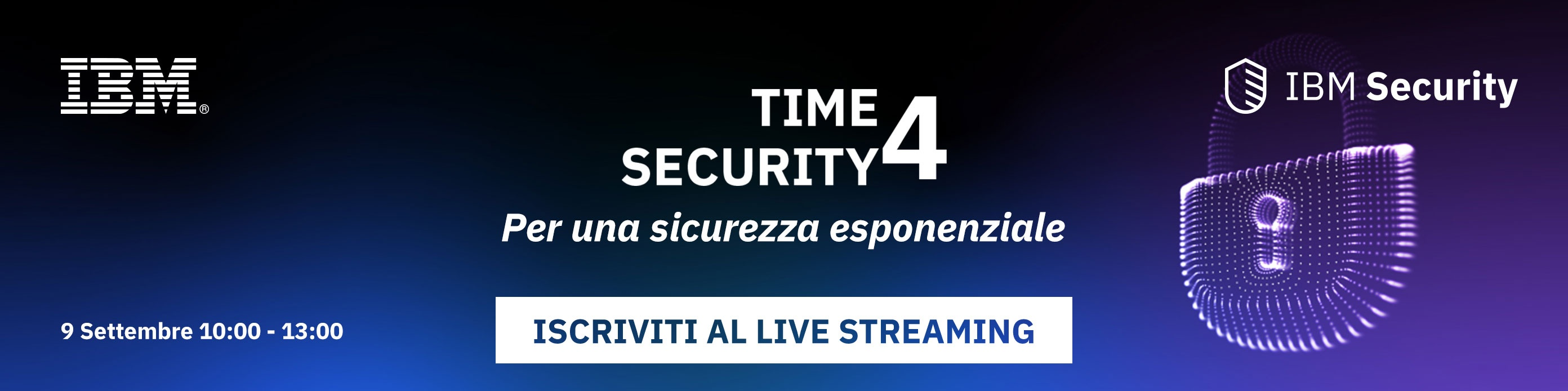 Time4Security - Iscriviti al live streaming
