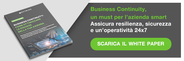 """Clicca qui e scarica il White Paper: """" Business continuity, un must per l'azienda smart"""""""
