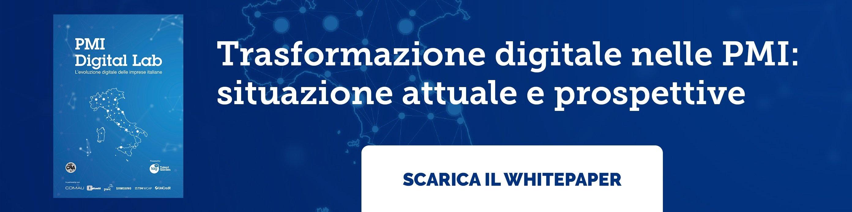 Trasformazione digitale nelle PMI: situazione attuale e prospettive - Scarica il whitepaper