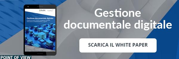 """Clicca qui per scaricare il White Paper """"Gestione Documentale Digitale: la Guida per essere a norma e semplificare i processi, assicurando la continuità operativa e logistica"""""""