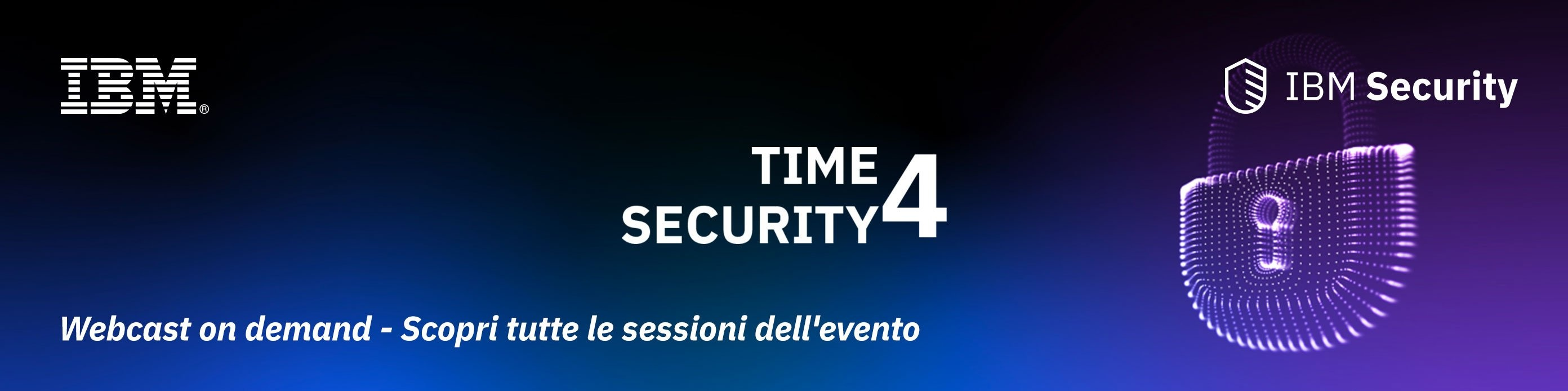 Time4Security - Webcast on demand