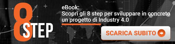 Sirio - eBook - 8 Step per sviluppare in concreto un progetto di Industry 40