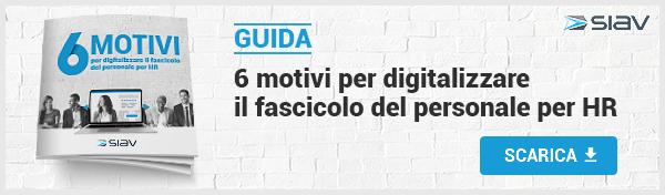 Siav - 6 motivi per digitalizzare il fascicolo del personale