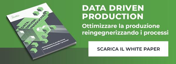 Quin - Data Driven Production - Ottimizzare la produzione reingegnerizzando i processi