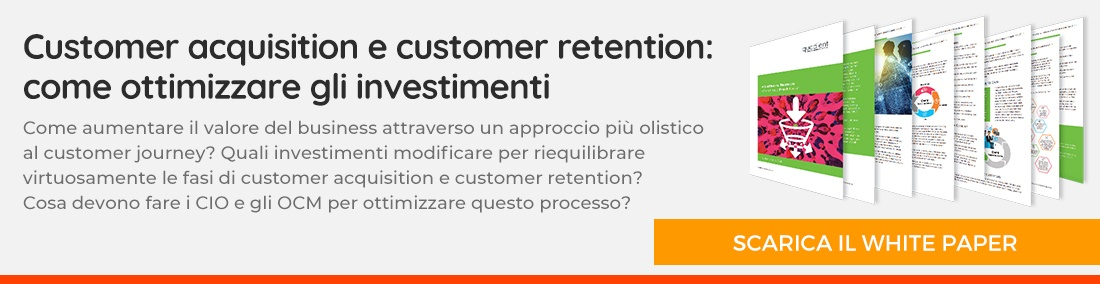 Customer acquisition e customer retention - scarica il whitepaper