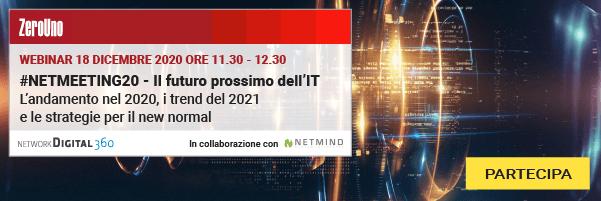 #NETMEETING20 - Il futuro prossimo dell'IT. PARTECIPA