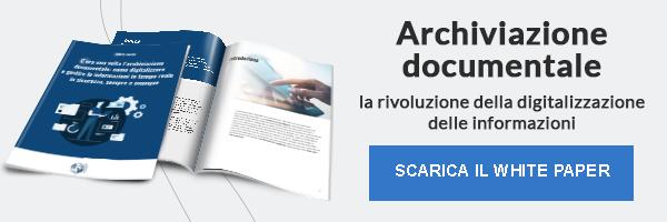 """CLICCA QUI per scaricare il White Paper: """"Archiviazione documentale, la rivoluzione della digitalizzazione delle informazione"""""""""""