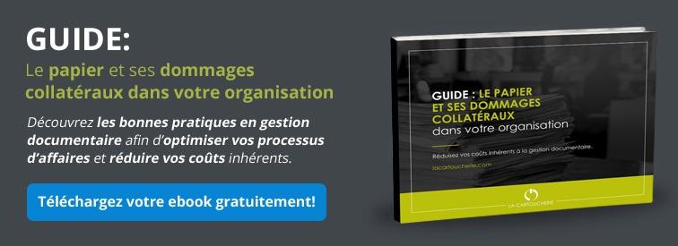 Guide: le papier et ses dommages collatéraux dans votre organisation