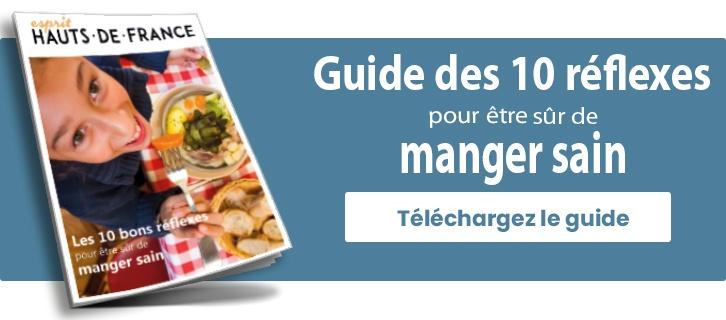 Guide 10 reflexes pour manger sain