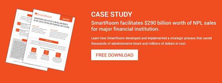 SmartRoom Asset Backed Securities Virtual Data Room Case Study
