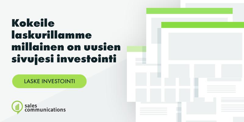 Salescomm-verkkosivulaskuri