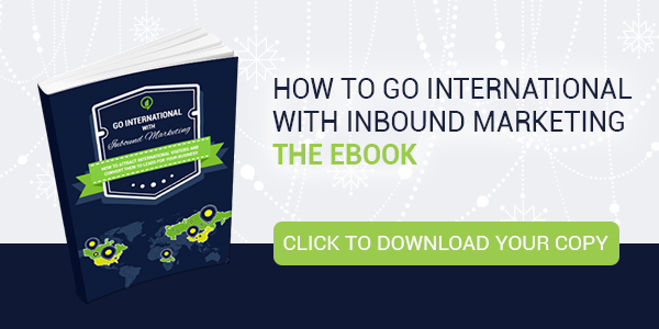 Download ebook to learn how to go international with inbound marketing!