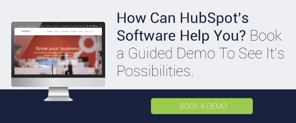 Book a HubSpot Demo