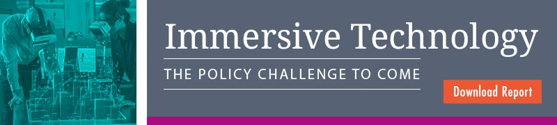 Immersive technology the policy challenge to come