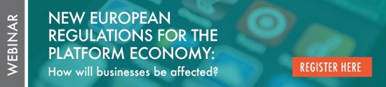 Webinar: New European Regulations for the Platform Economy: How will business be affected?