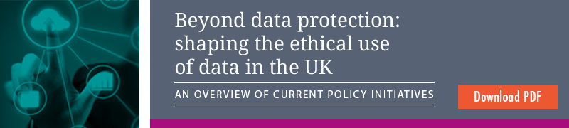 Beyond data protection - an overview of current policy initiatives