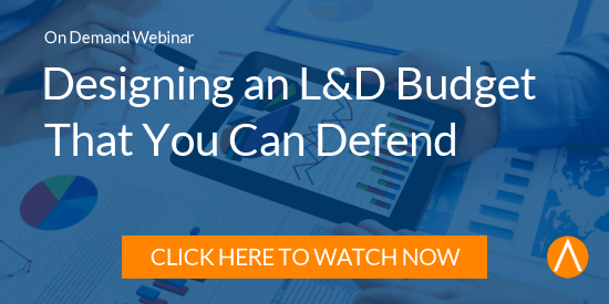 Watch the On-Demand Webinar: Designing an L&D Budget You Can Defend: Top-Down and Bottom-Up Budgeting