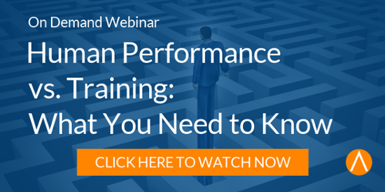 Watch the On-Demand Webinar: Human Performance vs. Training: What You Need to Know