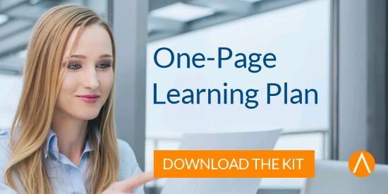 """Kit: Is Your """"One-Page Learning Plan"""" in Place?"""