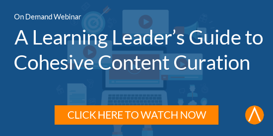 Watch the Webinar: A Learning Leader's Guide to Cohesive Content Curation
