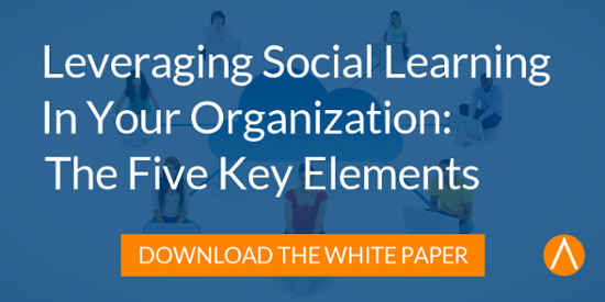 White Paper: Leveraging Social Learning In Your Organization: The Five Key Elements